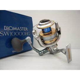 ◎百有釣具◎SHIMANO   BIOMASTER   SW 10000HG 捲線器~齒輪採用「冷間鍛造的超鋁合金齒輪」