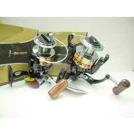 ◎百有釣具◎ EVO 海力士漁具 W6000型捲線器 ~低轉速遠投沉底專用捲線器