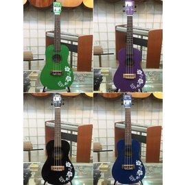 亞洲樂器 BORYA UKC~104 品牌 23吋 扶桑花系列 烏克麗麗夏威夷吉他 Uku