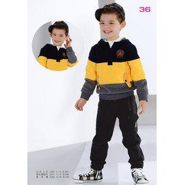 BABYKING 2241刷毛條紋帽T90cm^~150cm