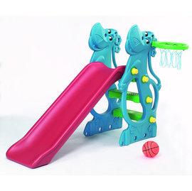『SL01-4』【CHING-CHING親親】河馬溜滑梯(二次料/藍)  (SL-12R p05)