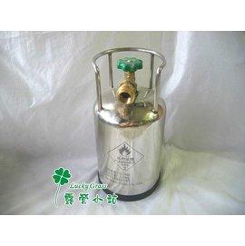 大林小草~【AM-D】山武者 1.5公斤超小型、超輕量 不鏽鋼瓦斯鋼瓶+外袋 $4200-台灣製造