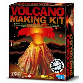 ~4M科學探索~Volcano Making Kit 科學系列之火山爆發╭~ JOYBUS