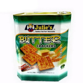 ~Julies~茱蒂絲奶油蘇打餅^~700g 罐裝