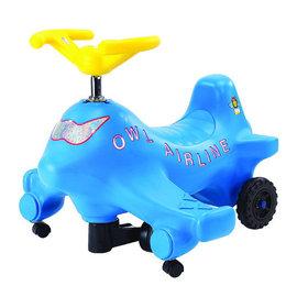 【紫貝殼】『SL02-1』【CHING-CHING親親】飛機扭扭車(藍)  (CA-06 p09)