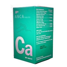 美國 ANCA  胺 鈣 錠 ~60錠  藤田鈣配方