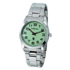 亞瑟王子錶 Arseprince AP~101  綠面  鋼帶錶~黑字錶 中性錶 錶