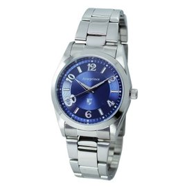 亞瑟王子錶 Arseprince AP~101  藍面  鋼帶錶~白字錶 中性錶 錶魔幻藍