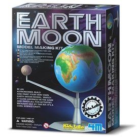 ~4M科學探索~地球和月亮 Earth~Moon Model Making Kit╭~ J