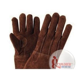 探險家戶外用品㊣75000111541 日本品牌SOUTH FIELD 荷蘭鍋專用皮手套(短版)隔熱手套