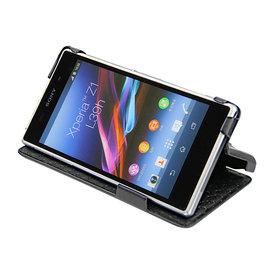 索尼「 Sony Xperia Z1」Sony Z1 C6902 L39h 側掀皮套 可放充電座充 保護套 保護殼 手機套 手工訂製 法國NOREVE頂級手機皮套 專賣店