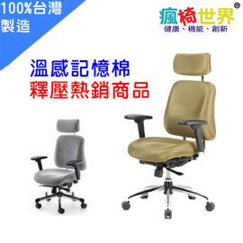 ~瘋椅世界~CI~5F 溫感記憶工學椅人體工學椅 111網椅 椅 網椅 電腦椅 皮椅 職員