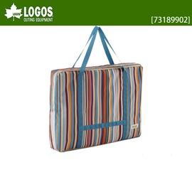 探險家戶外用品㊣NO.73189902 日本品牌LOGOS 摺疊桌條紋收納袋(尺寸85*65cm)(折合桌.折疊桌袋
