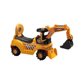【紫貝殼】『SL11-1』【CHING-CHING親親】挖土機遊戲車/挖土機助步車(WJ007 P50)