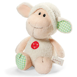 25cm拉姆咩咩羊坐姿玩偶
