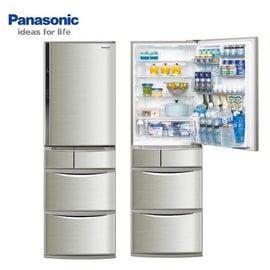 ★縣新竹以北至宜蘭★『Panasonic  430公升日本原裝ECO NAVI變頻5門冰箱 NR-E437TX /NR-E437T  *免費基本安裝+載舊機*
