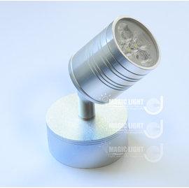 LED明裝投射燈座 展場超 LED燈具 背景牆燈 大底座
