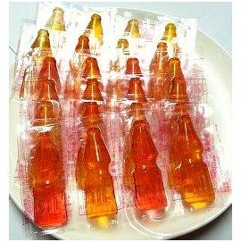 ^( ^) 晶晶 水果口味象皮糖^(橡皮糖^) 可樂瓶 QQ軟糖 600公克 110元
