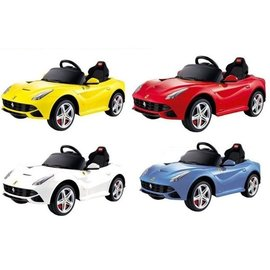 【紫貝殼】【CK30】Ferrari 法拉利 F12 電動車【贈NK04 Chicco 義大利原裝 新草本防蚊凝膠/原價288元】