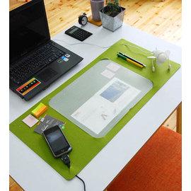 多功能繽紛柔軟毛氈桌墊  ◇/辦公桌墊滑鼠墊 整理墊 餐墊