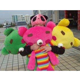 ~359元不挑色~韓國超 蘋果熊草莓熊大型抱枕~石來運轉R056