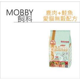 BABY貓舖 Mobby~莫比寵物自然食•愛貓無穀•鹿肉鮭魚•3kg~ 745