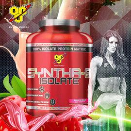 BSN Syntha~6 Isolate  緩慢混合 高蛋白 純分離式乳清 4.01磅 草