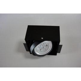 小棠照明館 設計師專用款LED時尚無邊框 AR崁燈.投射燈/9W單燈(整組)台灣晶電晶片/商業空間/裝潢燈具照明