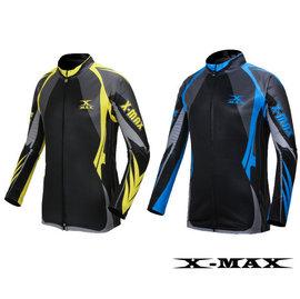 ^~排汗王^~MIT^~ X~MAX^~風馳長袖車衣^!中空纖維保暖刷毛內裡^~抗UV 排