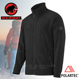 【瑞士 MAMMUT 長毛象】Innominata Classic Jacket男款Polartec保暖刷毛外套.羽量級刷毛衣.保暖中層衣.排汗透氣極佳 / 13890 黑
