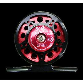 ◎百有釣具◎太平洋Pokee  孤風GF1/2  53mm 前打輪-~~ 特價990