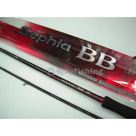 ◎百有釣具◎ SHIMANO Sephia BB-R 紅色特別版 S806ML路亞 軟絲竿