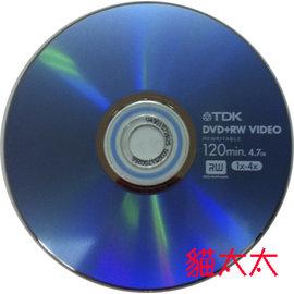 ~~貓太太~~TDK 1~4X DVD RW  10片裝 買10送1