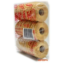 【吉嘉食品】素食園 古早味空心酥餅/酥圓 1包110公克20元,奶素,另有稻鴨米餅,空心餅{NGM01:1}
