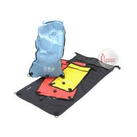 探險家戶外用品㊣P-DS15MD 美國PACIFIC OUTDOOR 防水收納袋-15L-黃色 漂流袋 防水袋 防水包