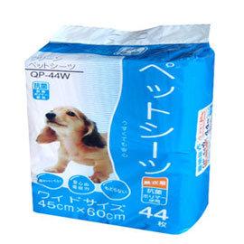 ~狗衣網~Q~PET 強力吸收寵物尿布 薰衣草香添加 QP~44W 44枚  45x60c