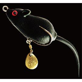 ◎百有釣具◎太平洋POKEE TK系列 雷蛙 老鼠型 路亞假餌 黑白兩色 隨機出貨