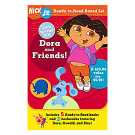 Dora愛冒險~^~讀本合輯^~ Learn to Read with Dora and