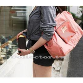 ~G13100302~韓國 大容量 可折疊旅行收納包 包 手提包 單肩包