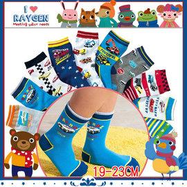 卡通汽車/交通工具/兒童襪/棉短襪男童襪19-23cm(不挑)【HH婦幼館】