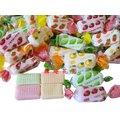 ~糖趣花園~ ~~友賓綜合水果軟糖~~500g105元~~單顆雙扭包裝~~綜合草莓 檸檬