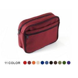 【紫貝殼●庫存出清】『BF03』韓國 Pognae 座墊型揹巾配件-萬用腰包(紅色/單寧/米色)