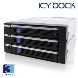 良基電腦  ICY DOCK MB453SPF~B 3.5吋SATA內接抽取模組