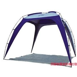 探險家露營帳篷㊣DJ688多用途炊事休閒帳 炊事帳篷 250*250CM 客廳帳棚 玻璃纖維桿