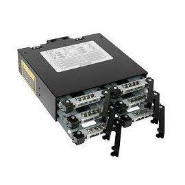 良基電腦  ICY DOCK MB996SP~6SB 6轉1 SATA熱抽拔模組