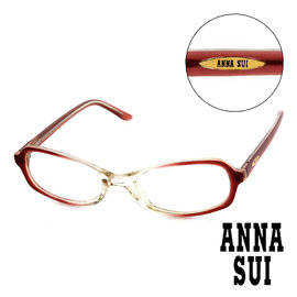 Anna Sui 安娜蘇  漸層 平光眼鏡 紅  AS05001