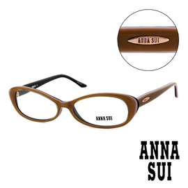 Anna Sui 安娜蘇  款 平光眼鏡^(咖啡^) AS09003