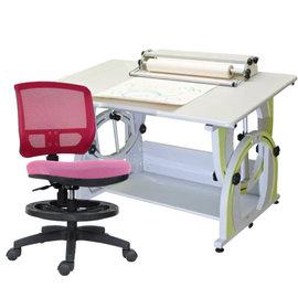 ~ 屋~兒童成長書桌網背椅組G~115F 12色 免  製 櫥櫃 辦公桌椅 人體工學椅 電