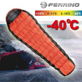 義大利 FERRINO HL REVOLUTION 1200 W.T.S 頂級白鵝絨睡袋(1190g).羽絨睡袋(新款)