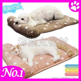 ~ DOGGYMAN~4990 超可愛靠枕圓點睡床 ~12公斤 犬貓 ~左側全店折價卷可立